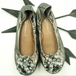 Jeffrey Campbell | Pewter Turtle Flats